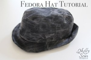 fedora pattern and tutorial
