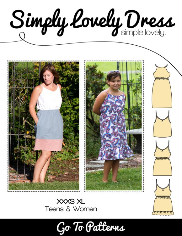 Simply Lovely Dress Pattern FREE in April