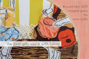 Inagine Gnats embroidery