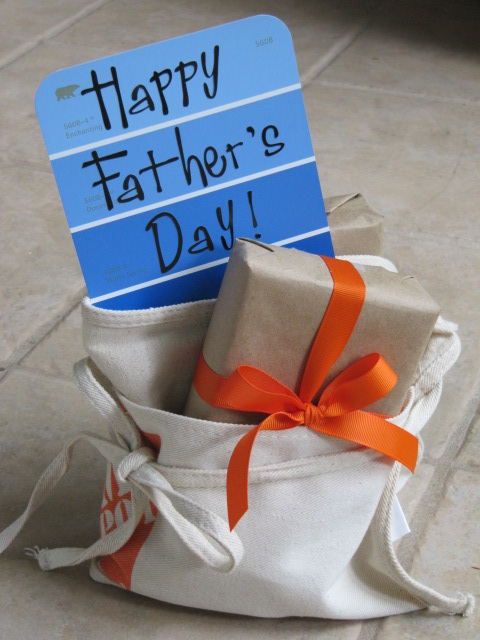 Fathers Day Gift Wrap SEWTORIAL