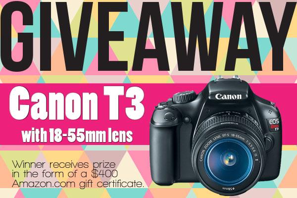 Win a Canon camera!