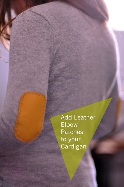 leather elbow patches