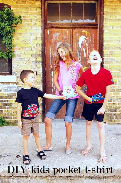 kids t-shirt refashion
