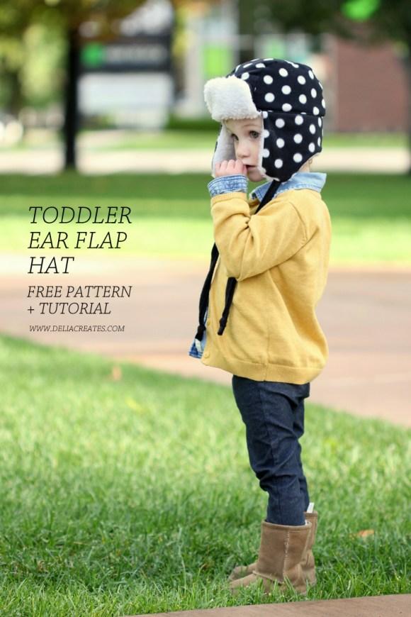 Toddler Ear Flap Hat Tutorial - SEWTORIAL d6fef04205c