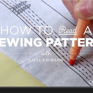 How to read a sewing pattern - FANTASTIC video!