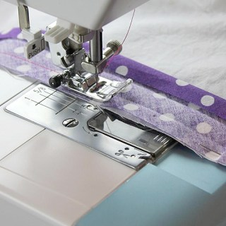 How to sew bias tape the EASY way!