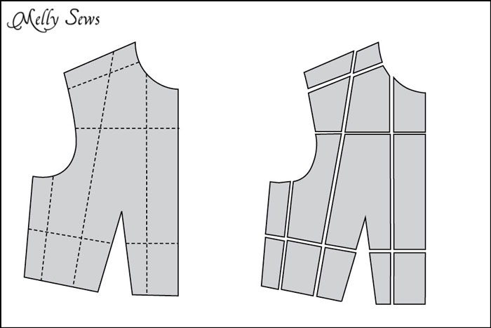 Resize a Sewing Pattern by Melly Sews - Sewtorial