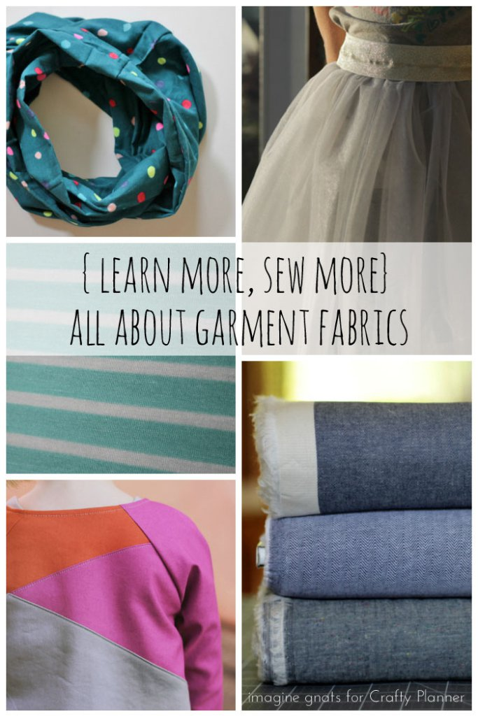 Choosing the right fabric for your project can be a challenge. It's never fun to finish a project and realize that a different fabric choice would have worked better. The Crafty Planner shares a great Fabric 101 article to help take the guess work out of selecting fabric.