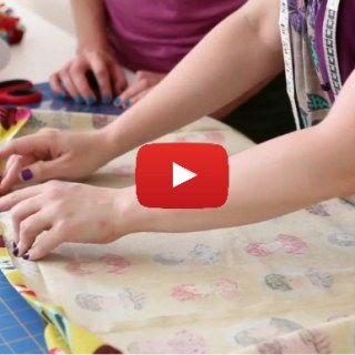 The One Hour Skirt is a great beginner skirt. Brett Bara shares a video tutorial from her book Sewing in a Straight Line. -Sewtorial