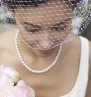 Looking for understated elegance on your special day? Learn how to make a birdcage veil in this easy tutorial. -Sewtorial