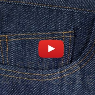 In this video tutorial Angela Kane shares tips on how to sew jean pockets that look amazing. -Sewtorial