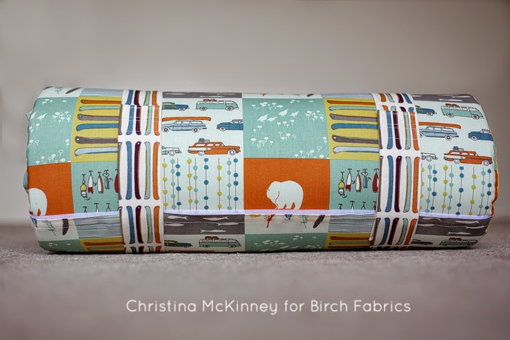Be prepared for naptime with the Sleepy Head Nap Mat tutorial by Birch Fabrics. This portable mat is padded and beginner friendly. -Sewtorial