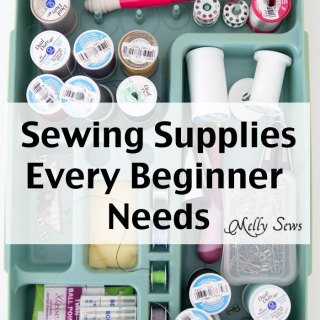 "Are you new to sewing? Learn which supplies will get you started with confidence in this ""Sewing Supplies 101"" primer from Melly Sews. - Sewtorial"