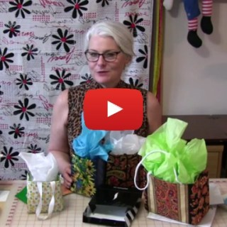 Just in time for Mother's Day, Sew Very Easy shares a video tutorial on creating fabric gift bags.