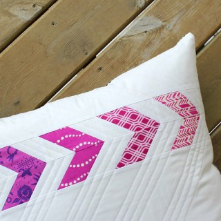 The Flyin' Together Pillow by Canoe Ridge Creations will elevate the look of any room with it's unique splash of color and design.- Sewtorial