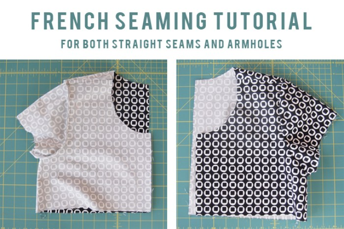 Learn how to create beautiful french seams (including armholes) with this french seams tutorial by Grainline. - Sewtorial