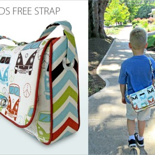Back to school time is here for many, so this kid's book bag tutorial by Sew 4 Home has great timing. )Perfect as an over the shoulder bag.) -Sewtorial
