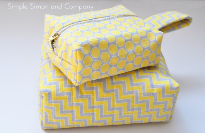 Are you looking for cute storage ideas? This quilted box tutorial by Simple Simon might be the perfect solution for your storage needs.