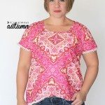 It's Always Autumn shares a free pattern tutorial for an easy-sew blouse that's perfect for warm weather. -Sewtorial