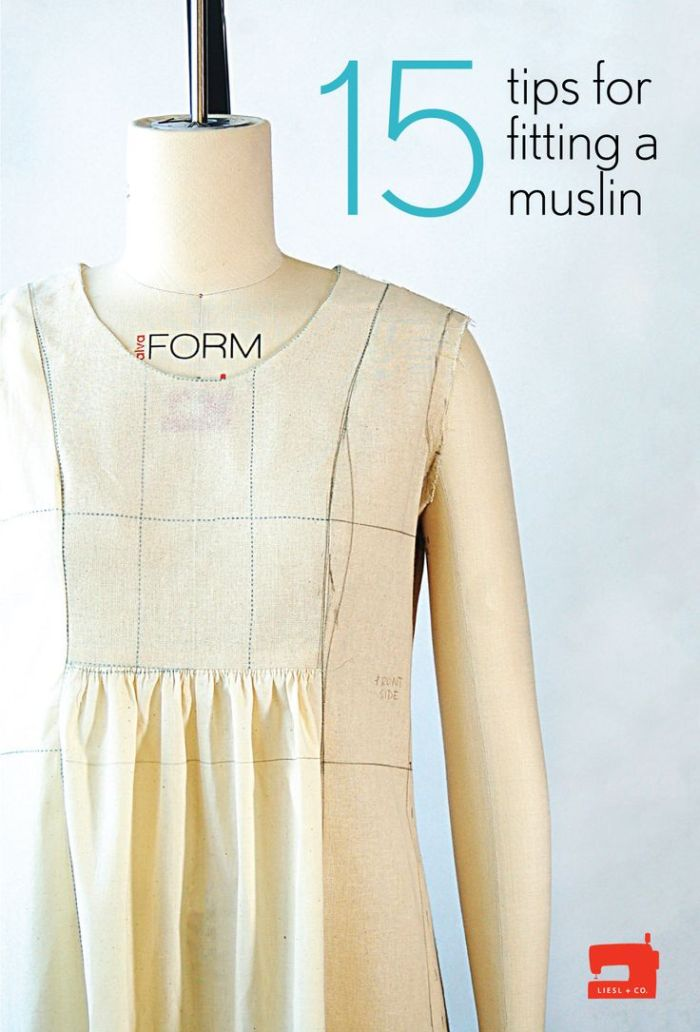 Not sure what a muslin is? Oliver + S has got you covered with 15 muslin tips to help you with your next sewing project. -Sewtorial