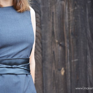 Make It Love It shares a DIY reversible belt tutorial that's super easy to make in your favorite fabrics and textures. -Sewtorial