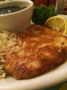 Pan-sauteed hogfish at The Fish House.