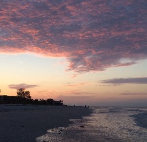 Sanibel sunrise to remember.