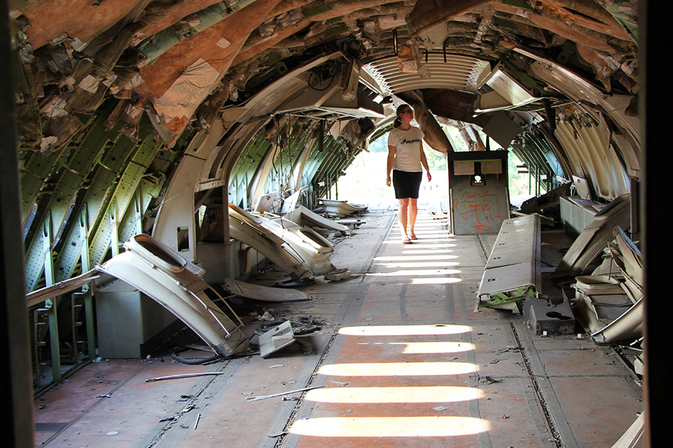 """Where is my seat?"" - Airplane Graveyard in Bangkok"