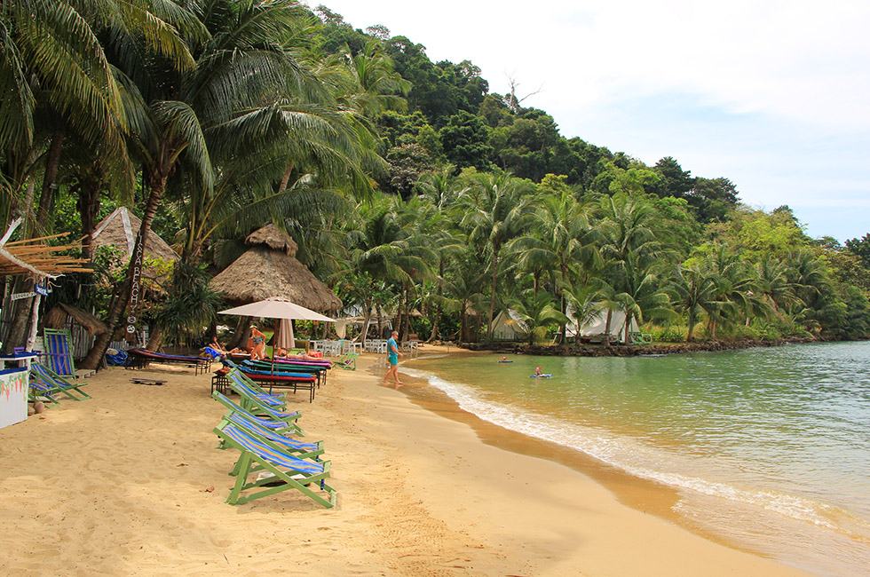 Chilling at Lisca Beach on Koh Chang