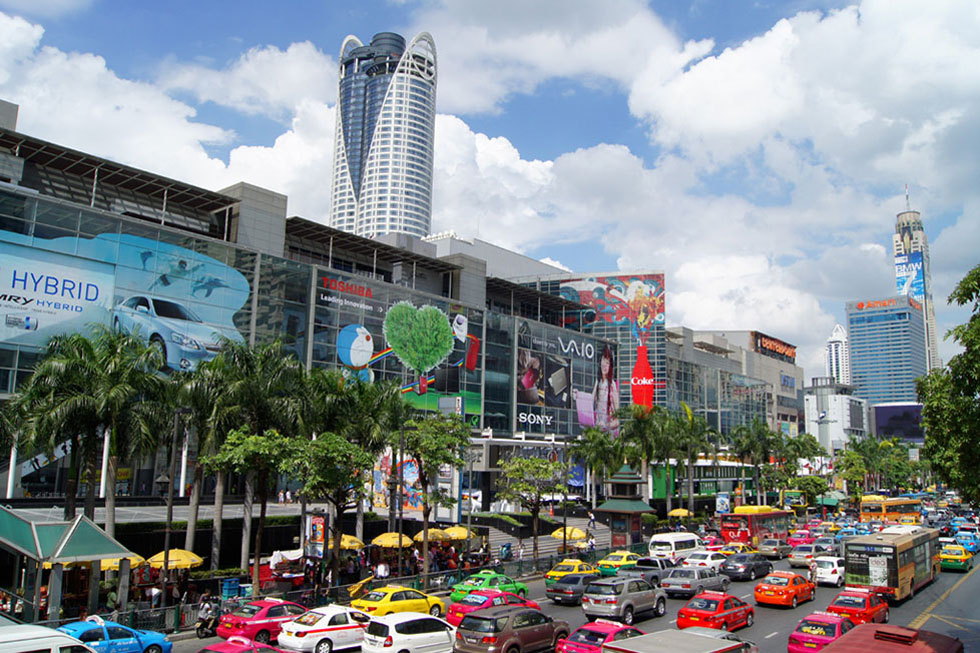 CentalWorld Shopping Mall in Bangkok