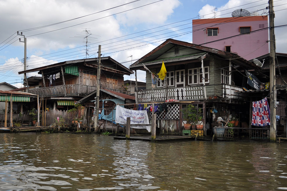 Klongs of Thonburi in Bangkok