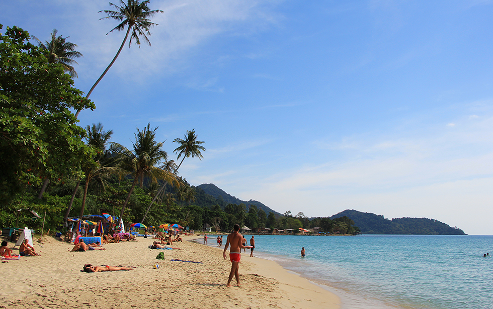 See and be seen at Lonely Beach on Koh Chang