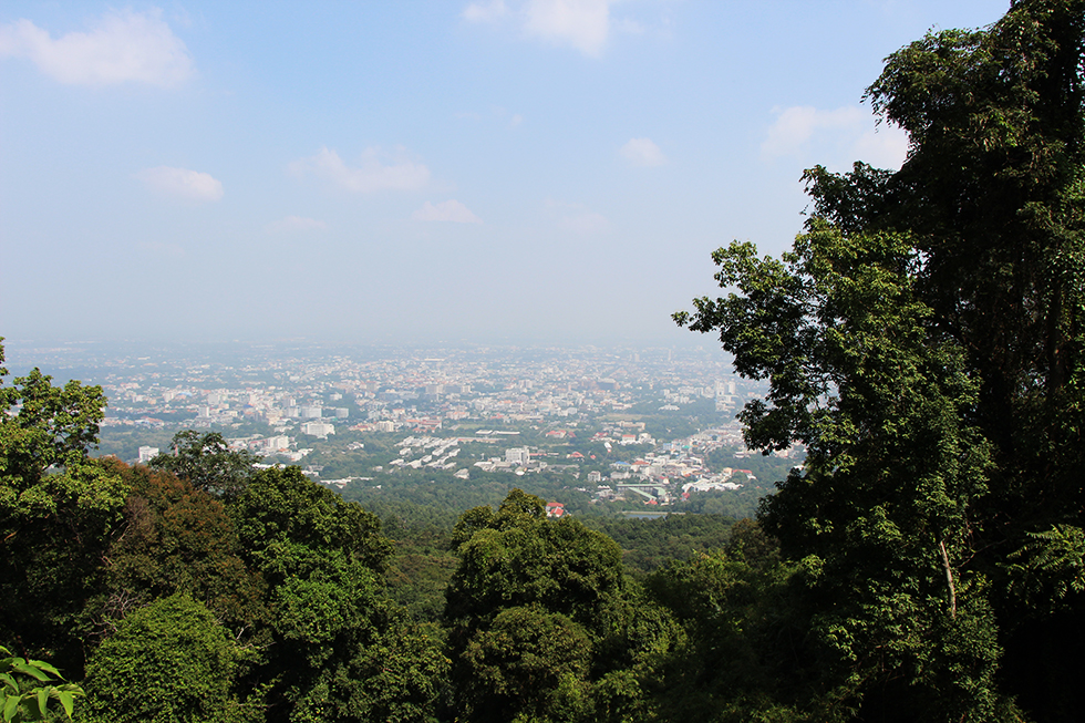 View from Doi Suthep in Chiang Mai