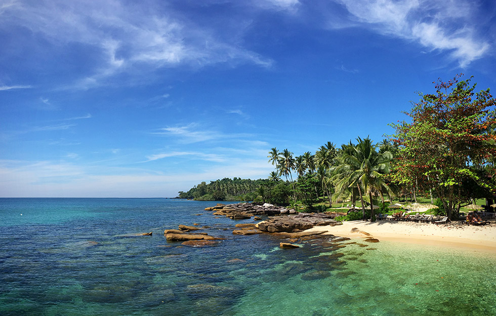 One of Koh Kood's heavenly beaches