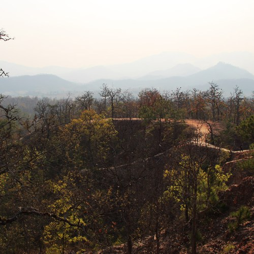 It's the hot and smokey season - Pai Canyon