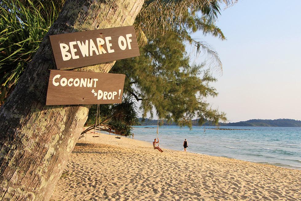 Paradise Beach in Koh Kood