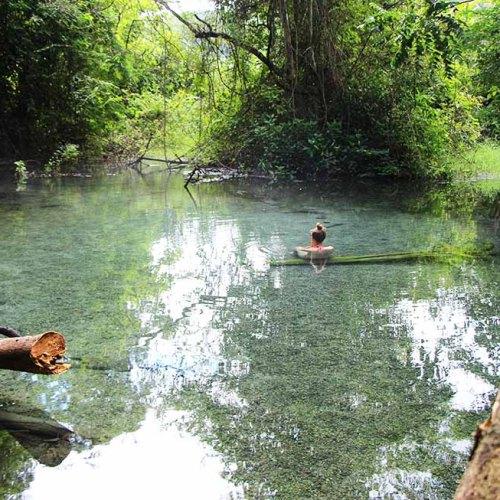 Sai Ngam Hot Spring in Pai