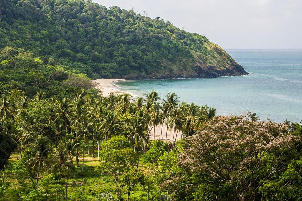 Bamboo Bay Beach in Koh Lanta