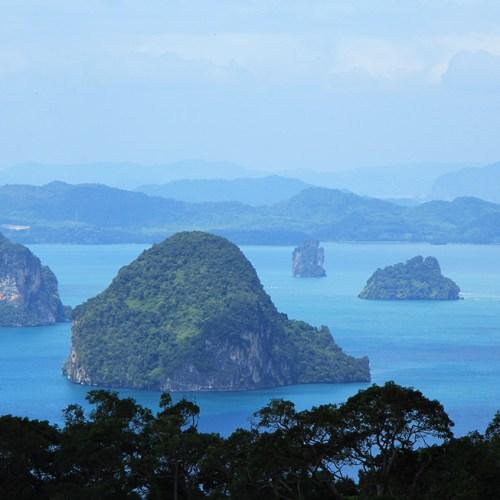 Hong Islands Viewpoint - Khao Ngon Nak Trail in Krabi