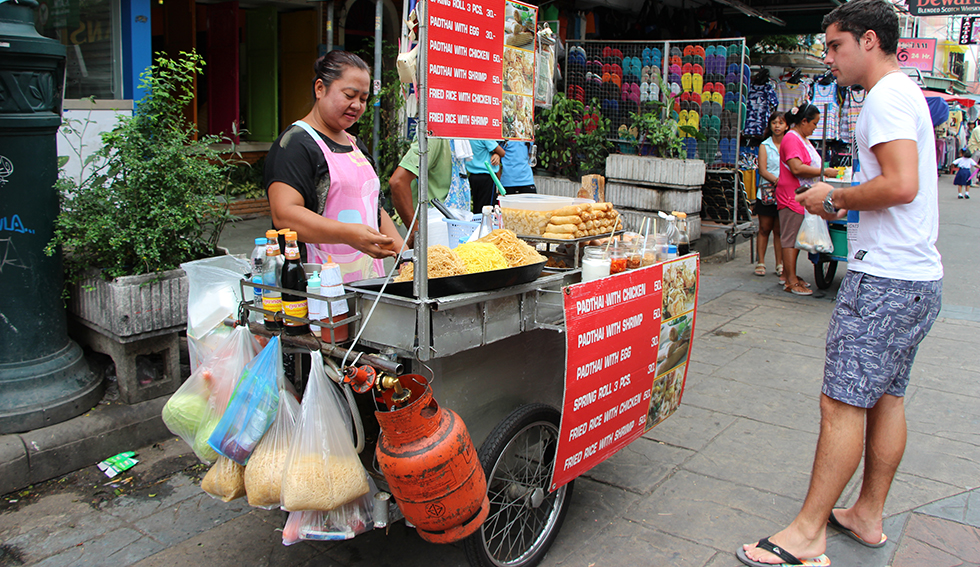 Streetfood at Khao San Road
