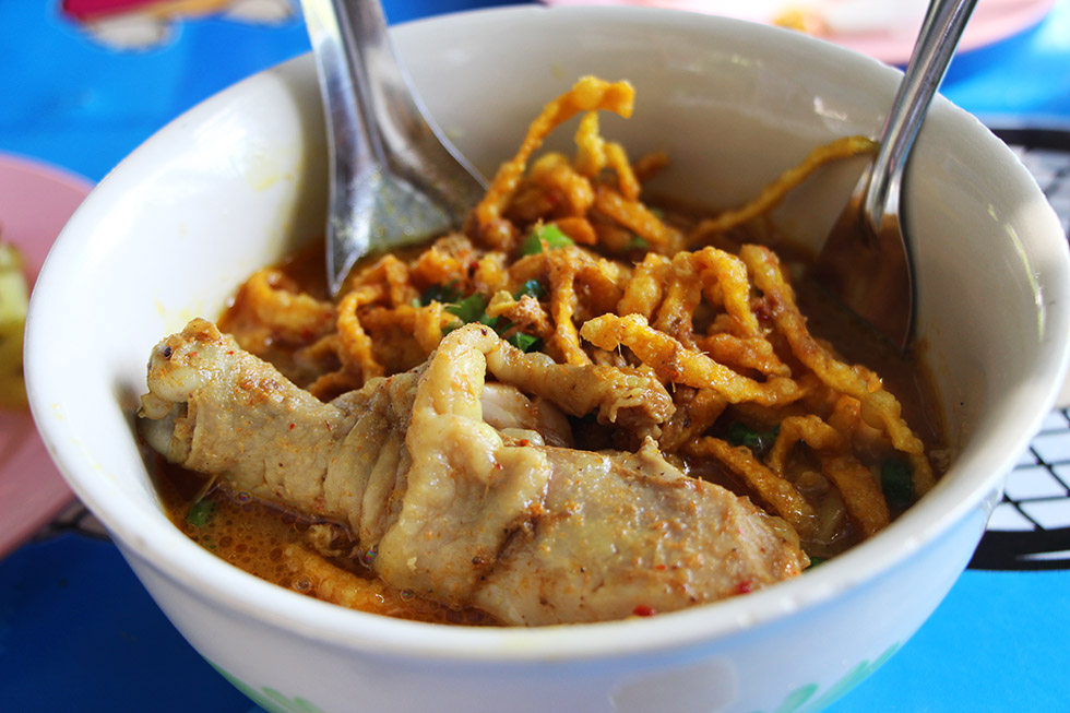 Are you in the north? Then definitely try Khao Soi!