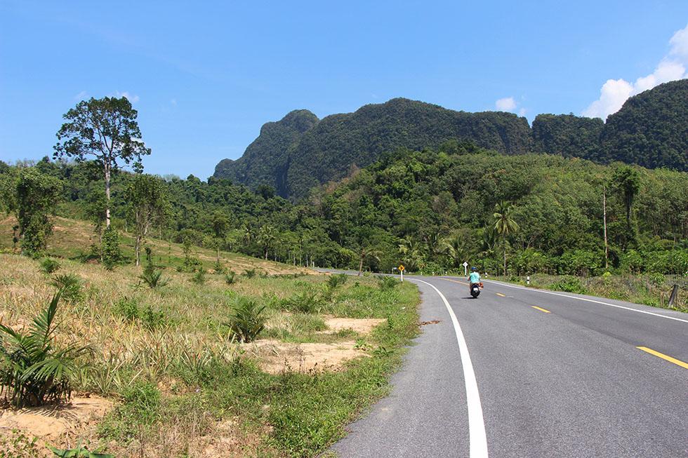 Phang Nga motorbike trip