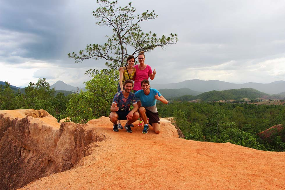 Exploring Pai Canyon