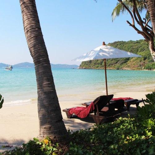 Lounging at Ao Prao Bay in Koh Samet