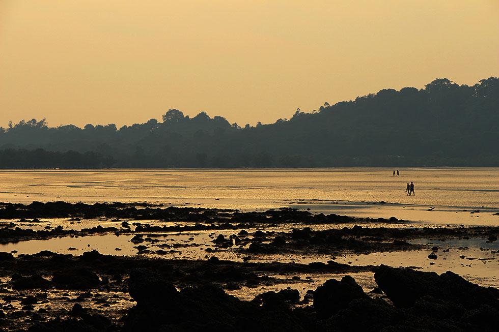 Koh Phayam at dusk