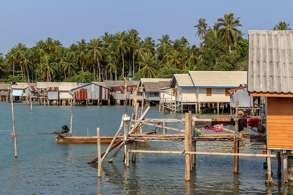 Fishermans Village in Koh Yao Yai