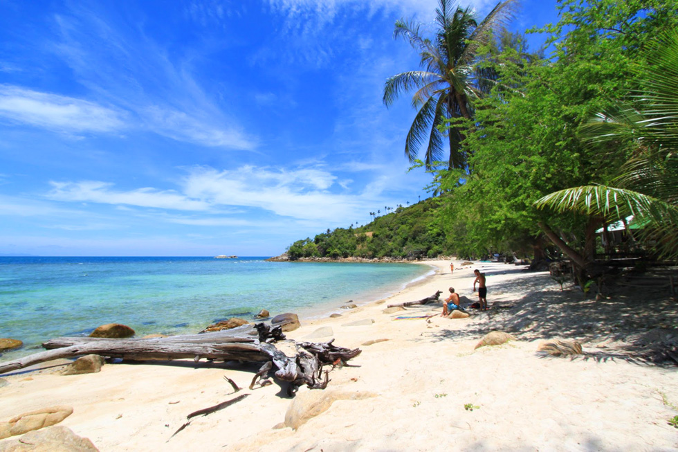 One of the best beaches of Koh Phangan: Haad Khom