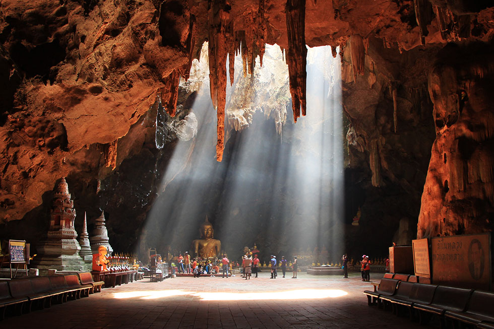 Khao Luang Cave in Phetchaburi