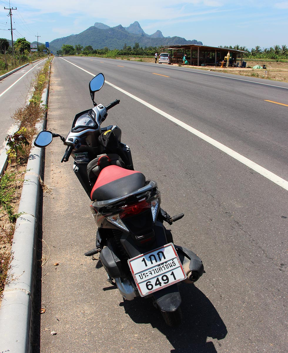On our way to Khao Sam Roi Yot National Park