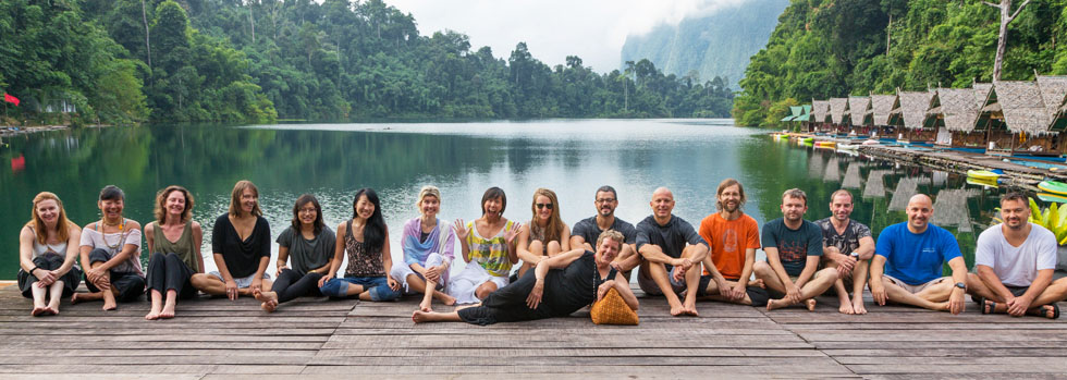A group tour is heaps of fun - Khao Sok National Park
